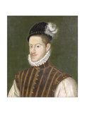 Portrait of Emperor Rudolf II (1552-1612) before 1576 Giclee Print by Alonso Sanchez Coello