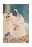 Seated Moroccan, 1936 Giclee Print by Glyn Warren Philpot
