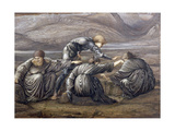 Study for Perseus and the Graiae, 1880 Giclee Print by Sir Edward Coley Burne-Jones