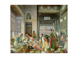 Intercepted Correspondence Giclee Print by John Frederick Lewis
