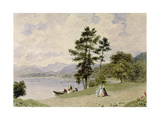 Windermere, from Low Wood Giclee Print by Frederick Nash