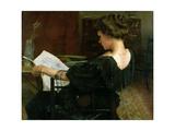 Portrait of Helen Gow Giclee Print by Alexander Mann