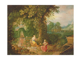 Vertumnus and Pomona Giclee Print by Frans Francken the Younger