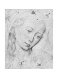 Head of the Virgin Giclée-Druck von Rogier van der Weyden
