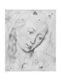 Head of the Virgin Giclee Print by Rogier van der Weyden