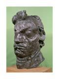 Tragic Mask of Ludwig Van Beethoven (1770-1827) 1901 Giclee Print by Emile-antoine Bourdelle