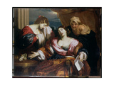 Death of Sophonisba, 1665-67 Giclee Print by Nicholas Renieri