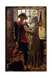 Claudio and Isabella Giclee Print by William Holman Hunt