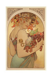 Fruit, 1897 Giclee Print by Alphonse Marie Mucha