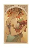 Fruit, 1897 Giclee Print by Alphonse Mucha