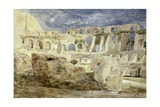 The Colosseum, Rome Giclee Print by Hercules Brabazon Brabazon