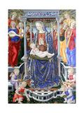 Madonna Dell'Orchestra Giclee Print by Giovanni Boccati Or Boccatto