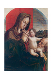 Madonna and Child with Saint Joseph Giclee Print by Bartolomeo Montagna