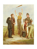 Study for 'Tossing for Innings', c.1841 Giclee Print by Robert James