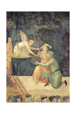 Allegory of Good Government, Detail of the Effect of Commutative Justice, 1338-40 Giclee Print by Ambrogio Lorenzetti