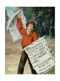 Newsboy, 1863-66 Giclee Print by Augustus Edward Mulready