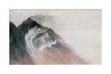 Chamonix, Mt Blanc Giclee Print by John Ruskin