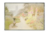 The Abbey Garden Giclee Print by Albert Goodwin