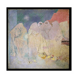 Group of Women, Marrakesh, 1936 Giclee Print by Glyn Warren Philpot