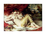 Venus and Cupid, c.1830 Giclee Print by William Etty
