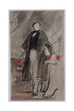 Study for Portrait of Daniel O'Connell M.P. (1775-1847) Giclee Print by Sir David Wilkie