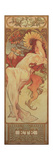 The Seasons: Summer, 1897 Giclee Print by Alphonse Mucha