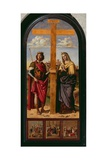 Constantine Holding the Cross and St. Helena Giclee Print by Giovanni Battista Cima Da Conegliano