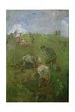 Fieldworkers Giclee Print by Robert Brough