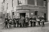 Woodbridge Post Office and Staff, Suffolk, 1912 Photographic Print by  English Photographer