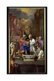 Baptism of Constantine I (270-337) Giclee Print by Pierre Puget
