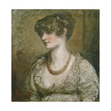 Portrait of a Young Woman Giclee Print by Daniel Gardner