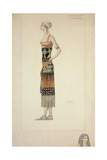 Egyptian Costume Giclee Print by Leon Bakst