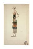 Egyptian Costume Giclee Print by Leon Bakst
