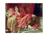 Leila, 1892 Giclee Print by Frank Bernard Dicksee