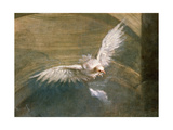 The Dove of the Holy Spirit (Detail) Giclee Print by Sebastiano Bombelli