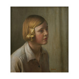 Portrait of Rhoda, 1931 Giclee Print by Harold Harvey