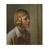 Portrait of Rhoda, 1931 Giclee Print by Harold Harvey