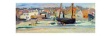 Lower Largo, Fife, c.1924-27 Giclee Print by George Leslie Hunter