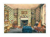 The Artist in Her Painting Room, York Giclee Print by Mary Ellen Best