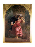 The Seduction, 1857 Giclee Print by Edward Henry Corbould