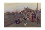 Stirling Station, 1888 Giclee Print by William Kennedy
