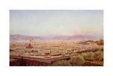 Florence from Bellosguardo Giclee Print by John Brett