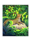 Leopard, 1993 Giclee Print by Liz Wright