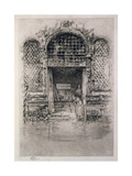 The Doorway, 1879-80 Giclee Print by James Abbott McNeill Whistler