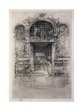 The Doorway, 1879-80 Giclee Print by James Abbott McNeill Whistler