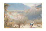 Lardeck, 1910 Giclee Print by Albert Goodwin