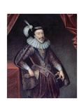 Portrait of William Stanley (1561-1642) 6th Earl of Derby Giclee Print by William Derby