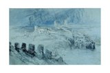 View of Bellinzona Giclee Print by John Ruskin