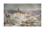 After the Battle of Grunwald, from the 'Slav Epic', 1924 Giclee Print by Alphonse Mucha