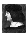 Self Portrait Giclee Print by Lucas van Leyden